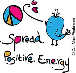 extensión, positivo, energía