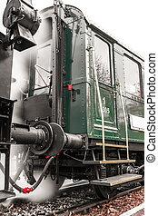 Exterior de trenes antiguos