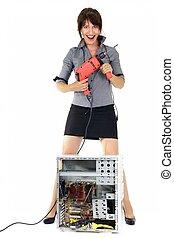Exterminador de tecnología femenina