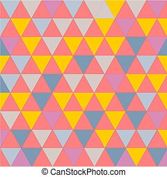 Extractar el fondo del triángulo. vector de ilustración.