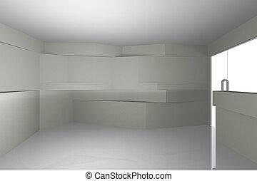 Extracto interior blanco