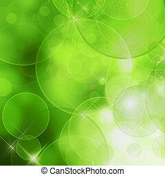 Extractor de la naturaleza (verde bokeh)
