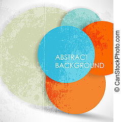 Extractos antecedentes coloridos. Vector.