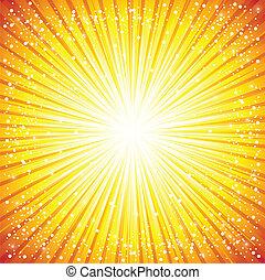 Extractos antecedentes con iluminación solar