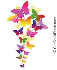Extractos antecedentes con mariposas