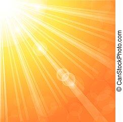 Extractos antecedentes con rayos solares