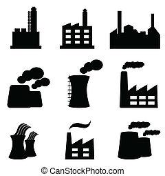Fábricas y plantas de energía