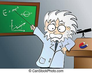 física, class profesor