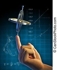 física, giroscopio