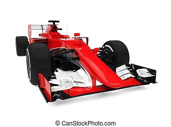 fórmula, competencia de automóvil, uno