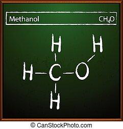 fórmula, metanol