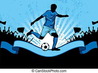 fútbol, cartel