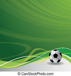 Fútbol / plantilla de diseño de fútbol