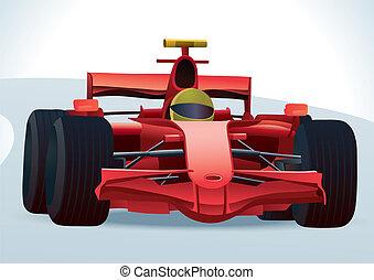 f1, coche de carreras