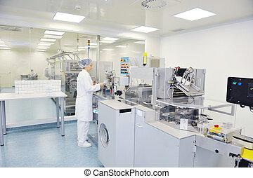 Fabrica médica y producción dentro