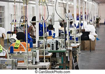 Fabrica textil industrial