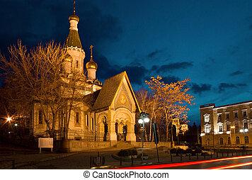fabricante, milagro, ruso, c/, iglesia, sofia, nicholas