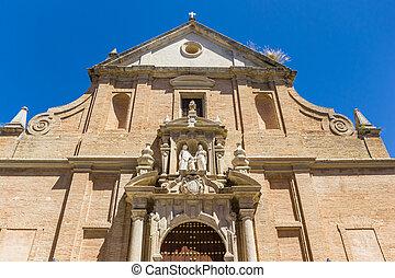 fachada, iglesia, córdoba, histórico