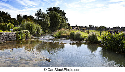 Fairford vilage gloucestershire