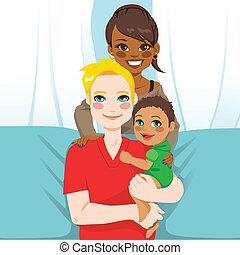 Familia étnica múltiple