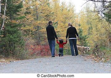 Familia ambulante