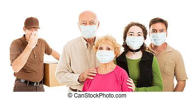 familia , avoids, gripe
