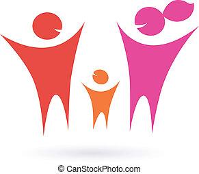 Familia, comunidad y gente