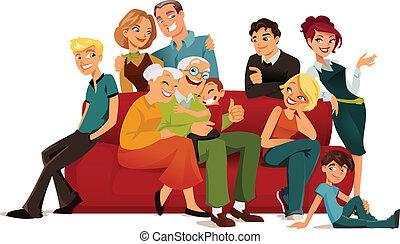 Familia de generación múltiple
