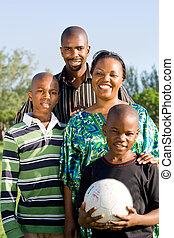 Familia deportiva