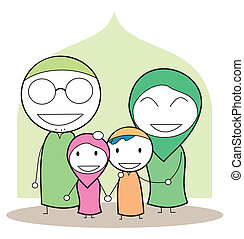 Familia musulmán