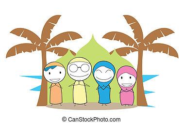 Familia musulmana