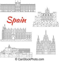 Famosos paisajes turísticos de España