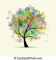 Fantasía de árbol de arte