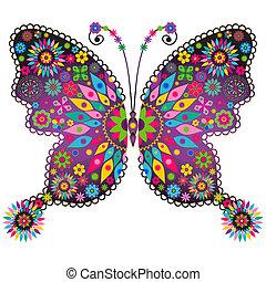 Fantasía vivida mariposa