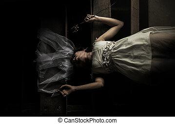 fantasma, novia, historia