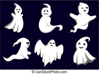 Fantasmas misteriosos