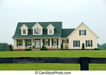 Farmhouse en el campo