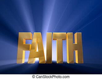 fe, amanecer