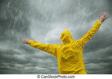 Feliz época de lluvias