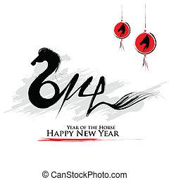 Feliz año nuevo 2014 - año del caballo