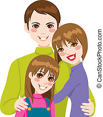 Feliz amor familiar