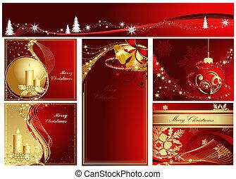 Feliz colección de Navidad