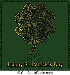 Feliz día de St. Patrick