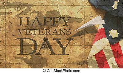 Feliz día de veteranos.