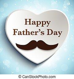 Feliz Día del Padre, el amor del bigote