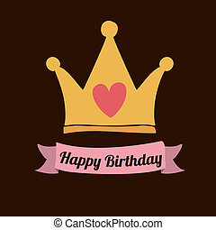 Feliz diseño de cumpleaños