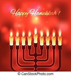 feliz, fondo velado, hanukkah