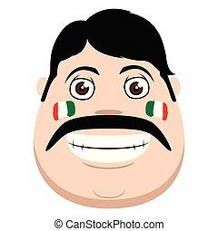 Feliz hombre mexicano