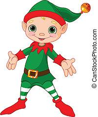 Feliz Navidad elfo