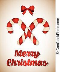 Feliz Navidad, tarjeta colorida gráfica